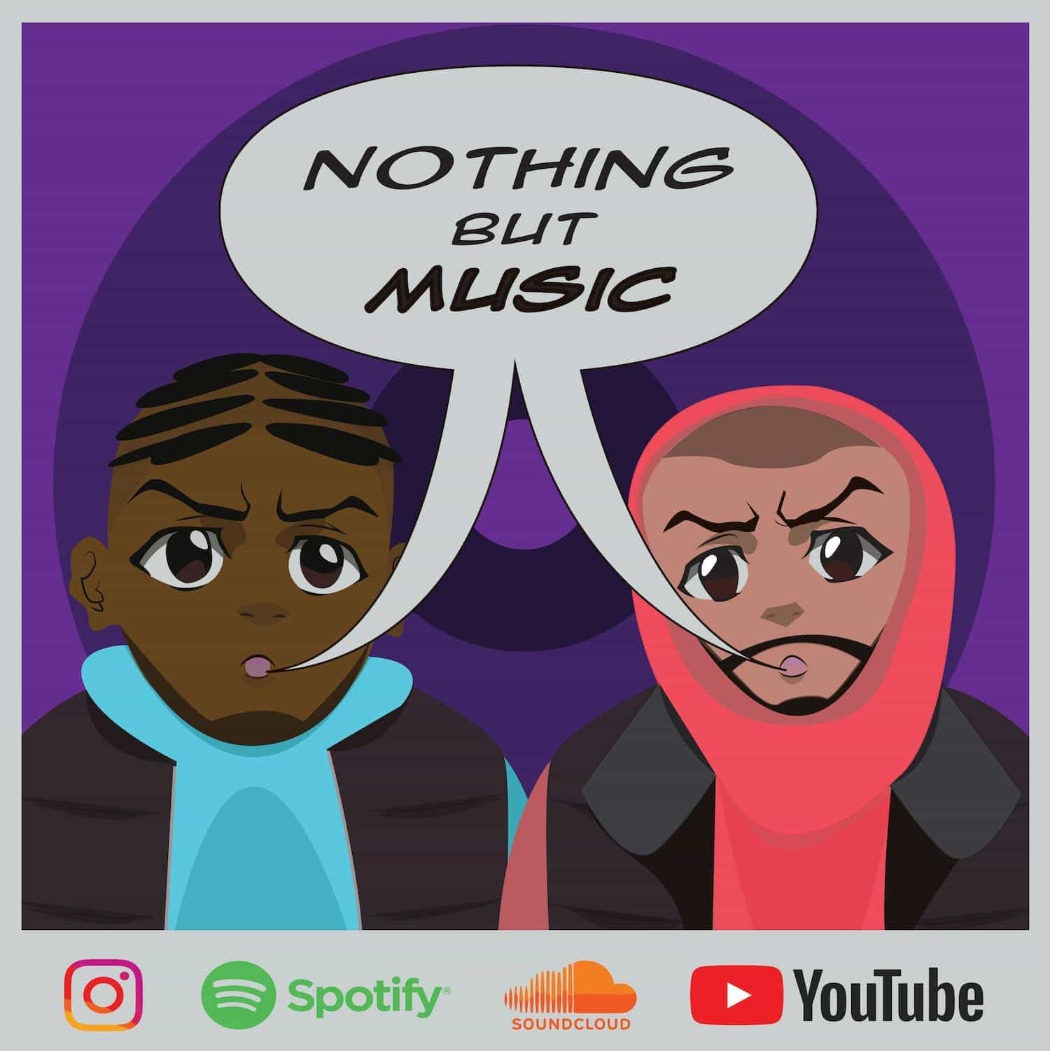 Podcast Editing Services, Nothing But Music Podcast